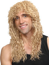 Adult Mens Rockstar Wig Blonde