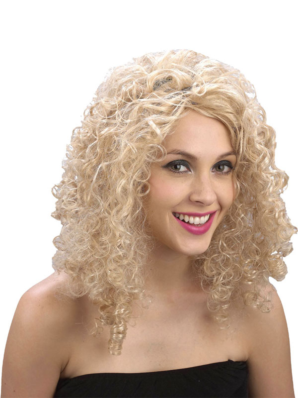 Adult Curly Blonde Wig