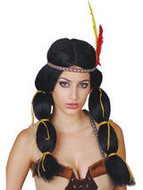 Adult Indian Princess Wig