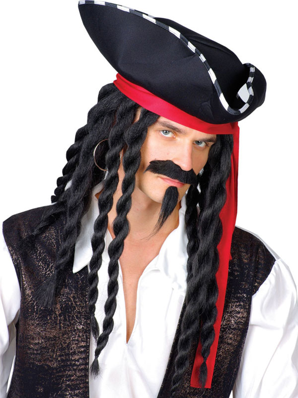 Adult Mens Buccaneer Pirate Kit
