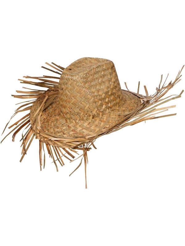 Straw Hawaiian Beachcomber Hat