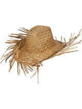 Straw Hawaiian Beachcomber Hat
