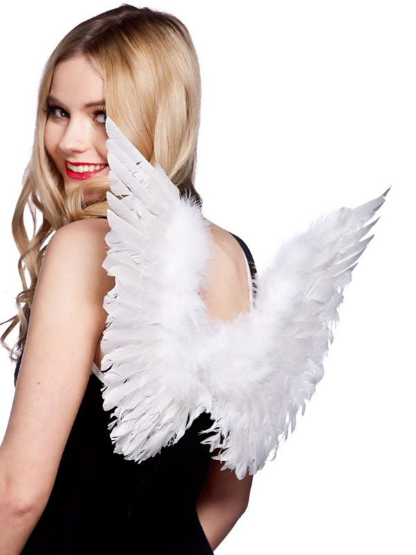 White Feather Wings (Small)