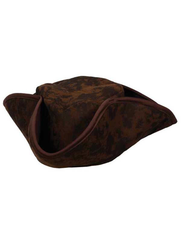 Caribbean Pirate Hat (Brown)