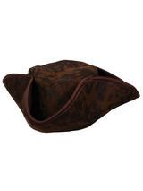 Caribbean Pirate Hat (Brown)