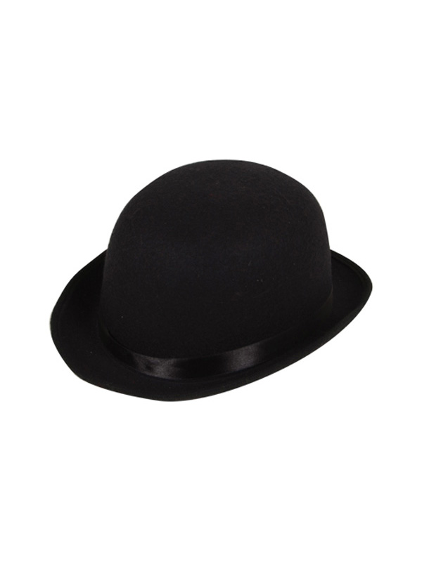 Indestructable Bowler Hat (Black)