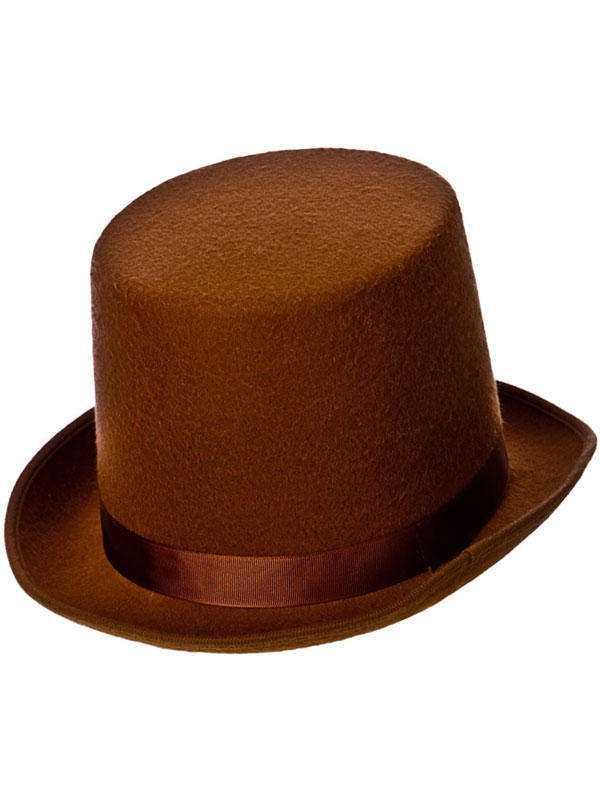 Perfect Fit Indestructable Top Hat (Brown)