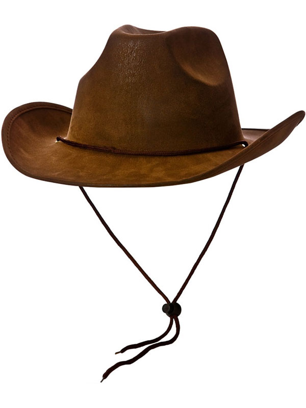 Super Deluxe Suede Cowboy Hat (Brown)