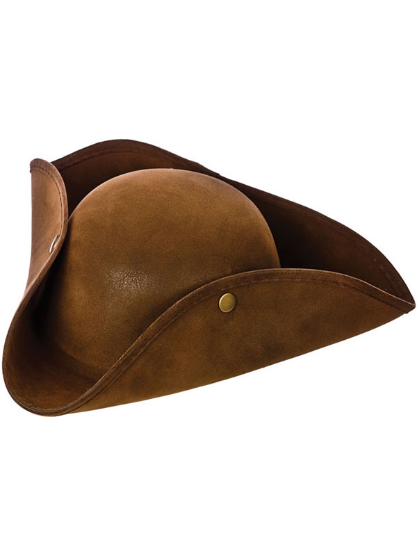 Adult Super Deluxe Suede Pirate Hat