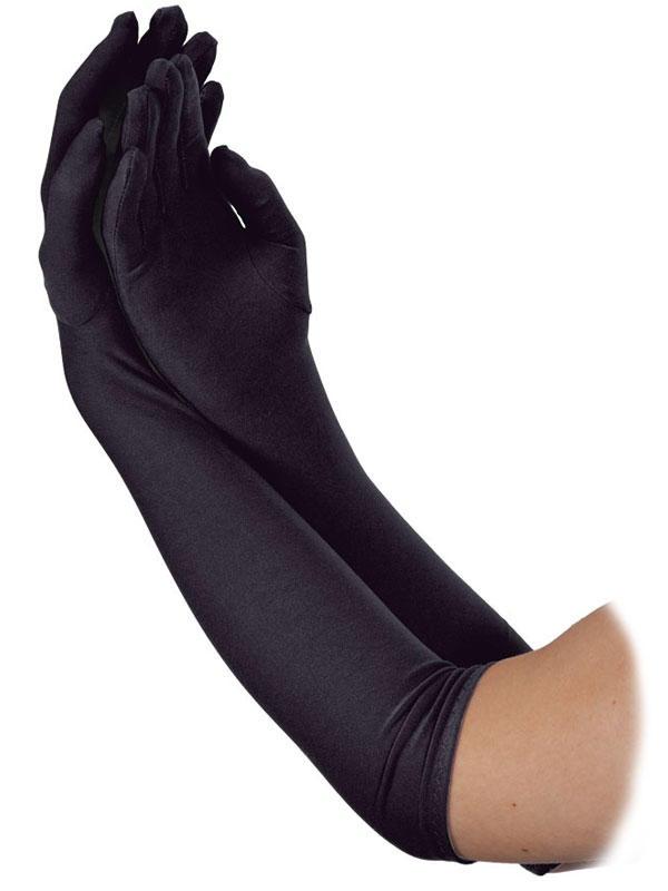 Long Gloves Black
