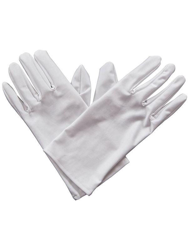 Gents Gloves White