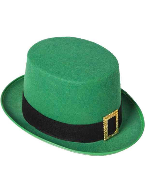 St Patricks Leprechaun Top Hat