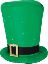 Giant St Patricks Hat With Flashing Led Lights