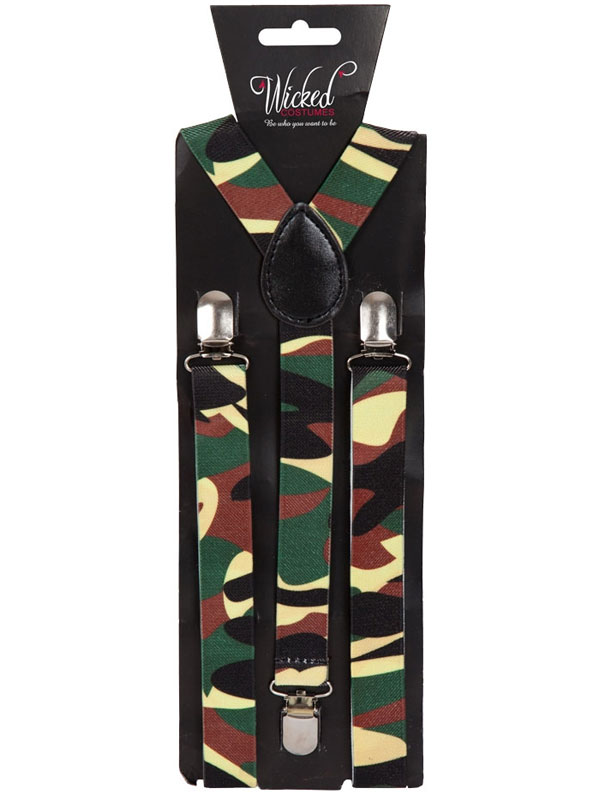 Braces 96 X 25cm Camouflage