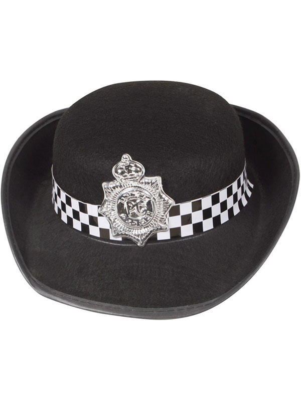 Adult Ladies WPC Policewoman Hat Thumbnail 1