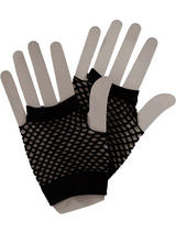 Net Gloves Black