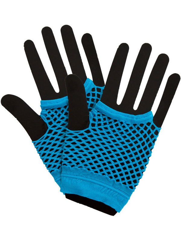 Net Gloves Blue