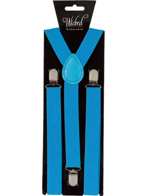Braces 96cm X 25cm Blue