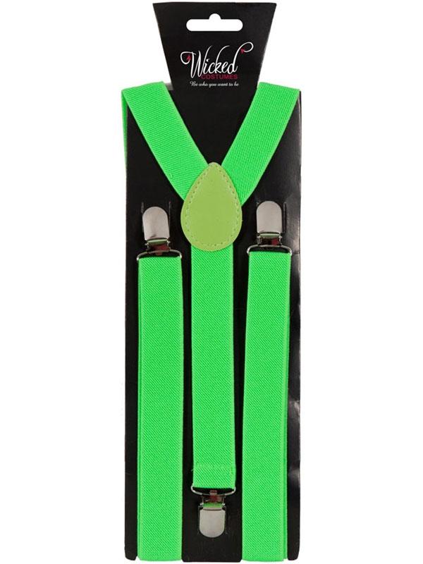 Braces 96cm X 25cm Neon Green
