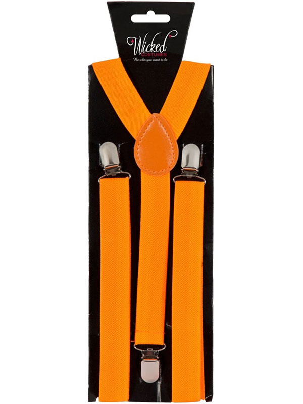 Braces 96cm X 25cm Neon Orange