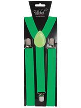 Braces 96 X 25cm Green