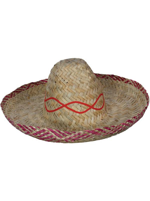 6bac822d6d635 Mexican Western Bandit Sombrero Fancy Dress Cowboy Straw Hat Costume  Accessory