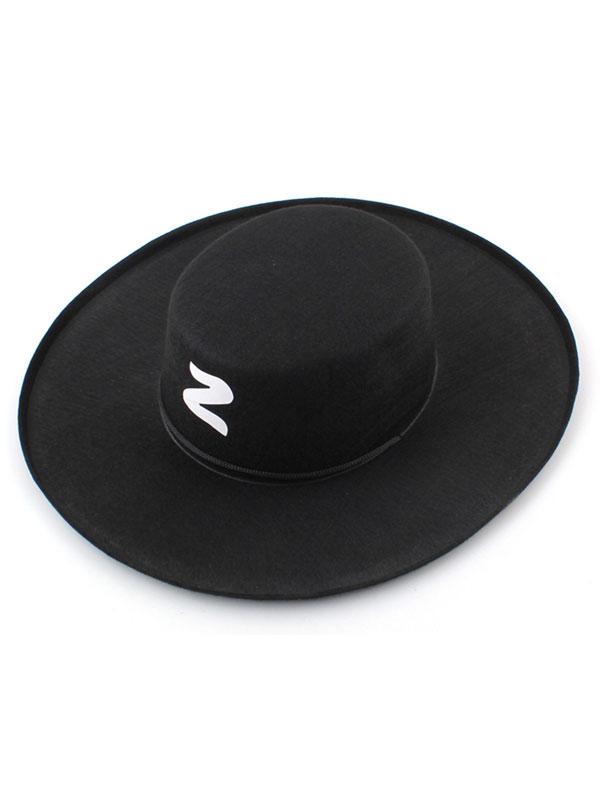 Adult Bandit Hat With 'Z' Emblem