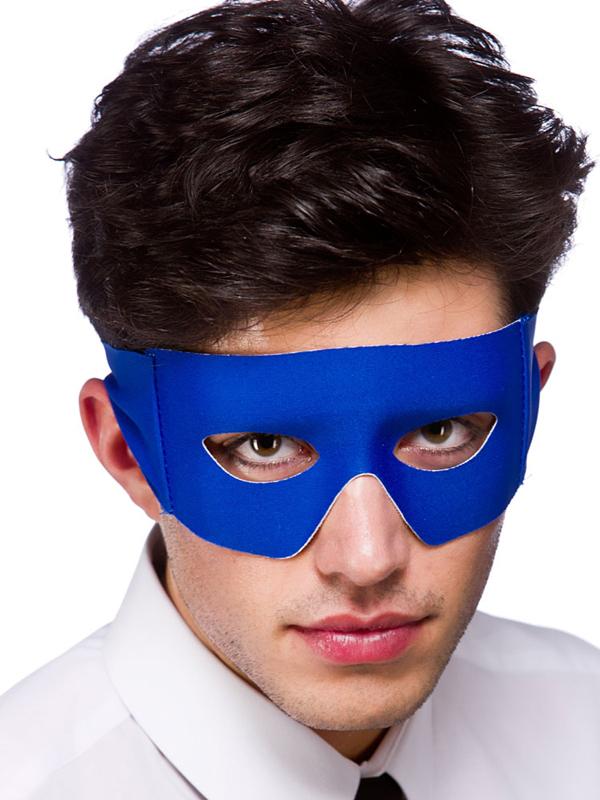 Bandit Superhero Eyemask Blue