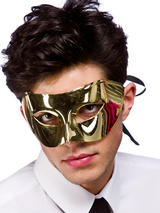 Adult Rimini Eyemask (Gold)