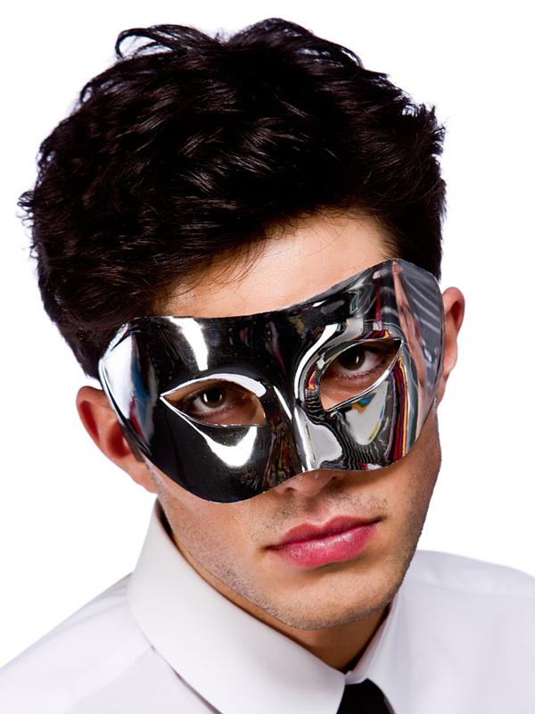 Adult Rimini Eyemask (Silver)