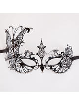 Metal Queen Butterfly Eye Mask