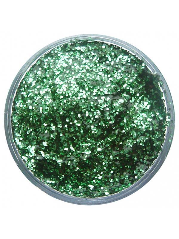 12ml Glitter Gel (Bright Green) - Snazaroo