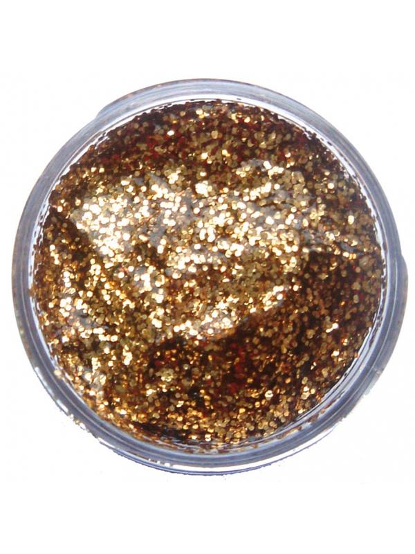 12ml Glitter Gel (Red Gold) - Snazaroo