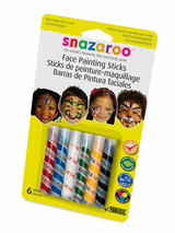 Face Paint Sticks Face & Body Paint (Unisex) - Snazaroo
