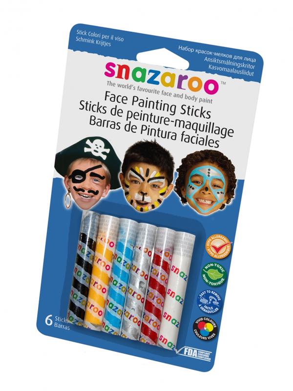 Face Paint Sticks Face & Body Paint (Boy) - Snazaroo