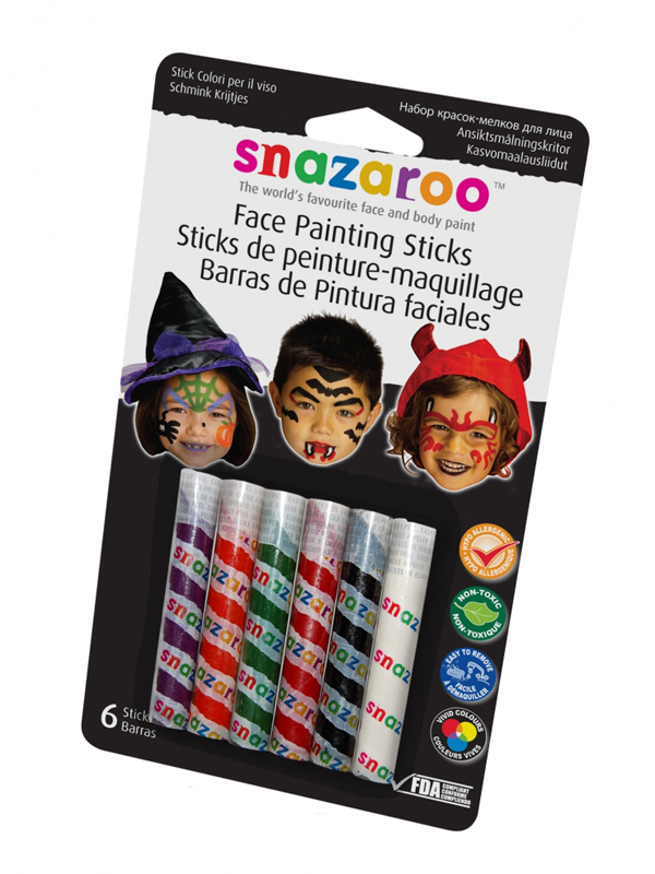Face Paint Sticks Face & Body Paint (Halloween) - Snazaroo