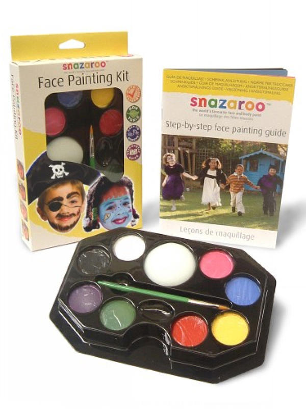Face Painting Kit Face & Body Paint (Unisex) - Snazaroo