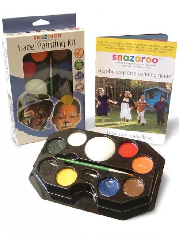 Face Painting Kit Face & Body Paint (Boys) - Snazaroo