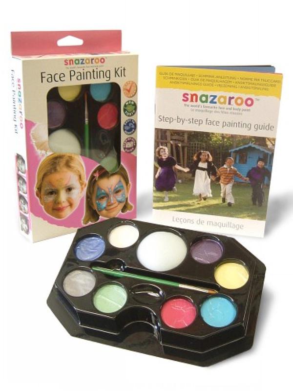 Face Painting Kit Face & Body Paint (Girls) - Snazaroo