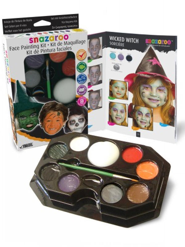 Face Painting Kit Face & Body Paint (Halloween) - Snazaroo