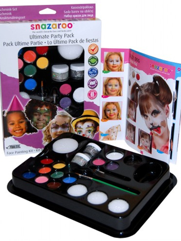 Ultimate Party Pack Face & Body Paint Kit - Snazaroo