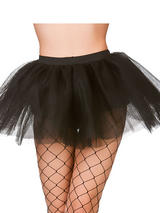 Adult Budget 3 Layer Tutu (Black)