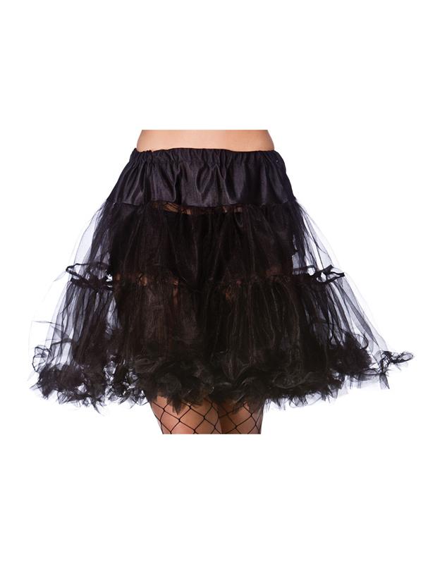 Ruffle Petticoats Black
