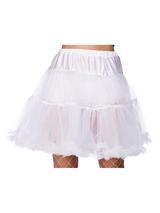 Ruffle Petticoats White