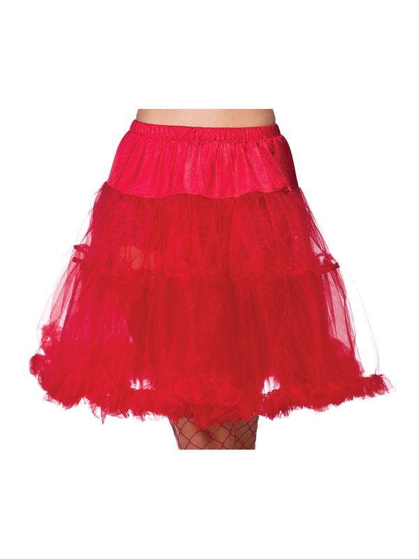Ruffle Petticoats Red