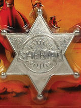 Sheriff Badge Metal