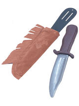 Indian Dagger In Sheath