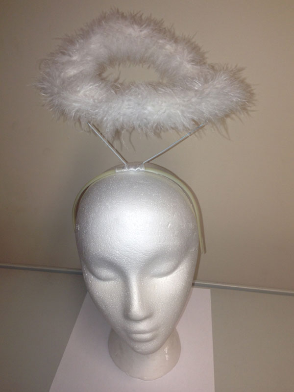 Adult Ladies Halo - Feather