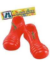 Clown Shoes PVC Red