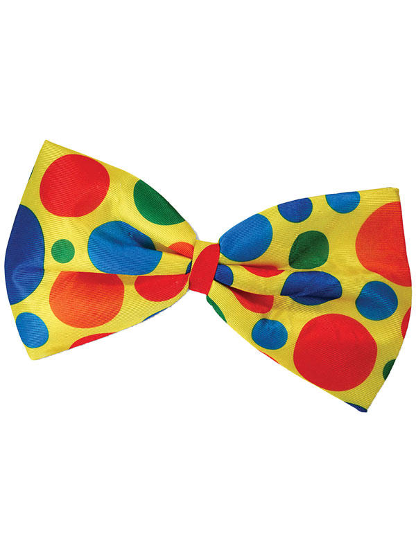 Clown Jumbo Bow Tie